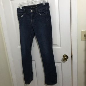 5/$45 Express Size 6 Short Barely Boot Blue Jeans